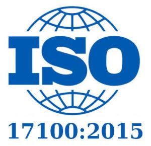 Trabajamos según Norma UNE-EN ISO 17100:2015